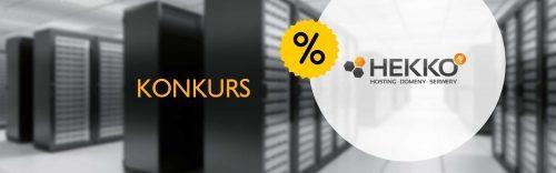 Do wygrania kod rabatowy – zniżka 30% na serwer w hekko.pl