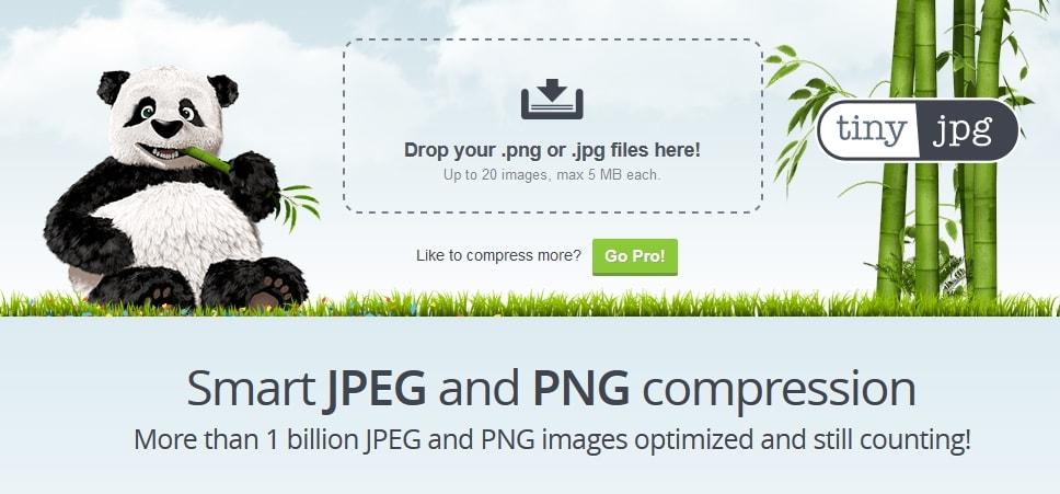 Kompresja zdjęć i grafik na stronie