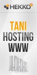 Tani hosting stron